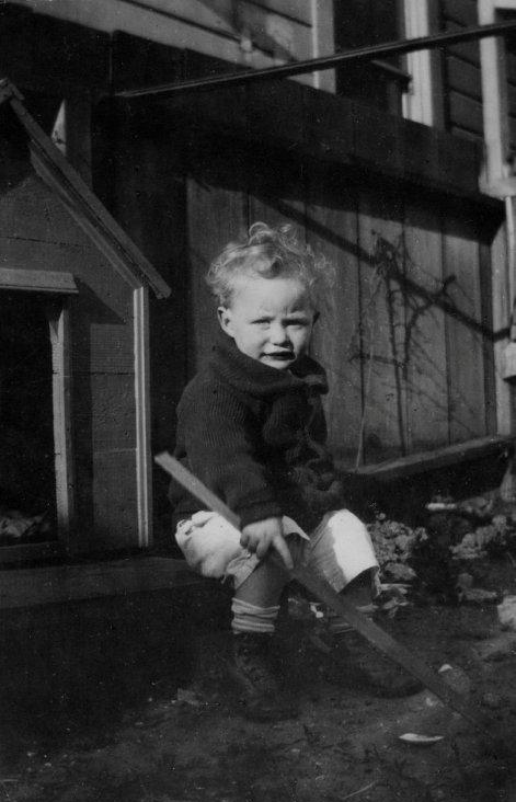 Papa as Little Boy (#2)