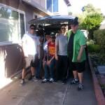 Raiju Tour being their roadie. August 28, 2013