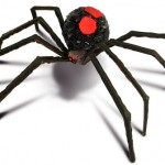 Papas Pearls, Black Widow Spider Craft